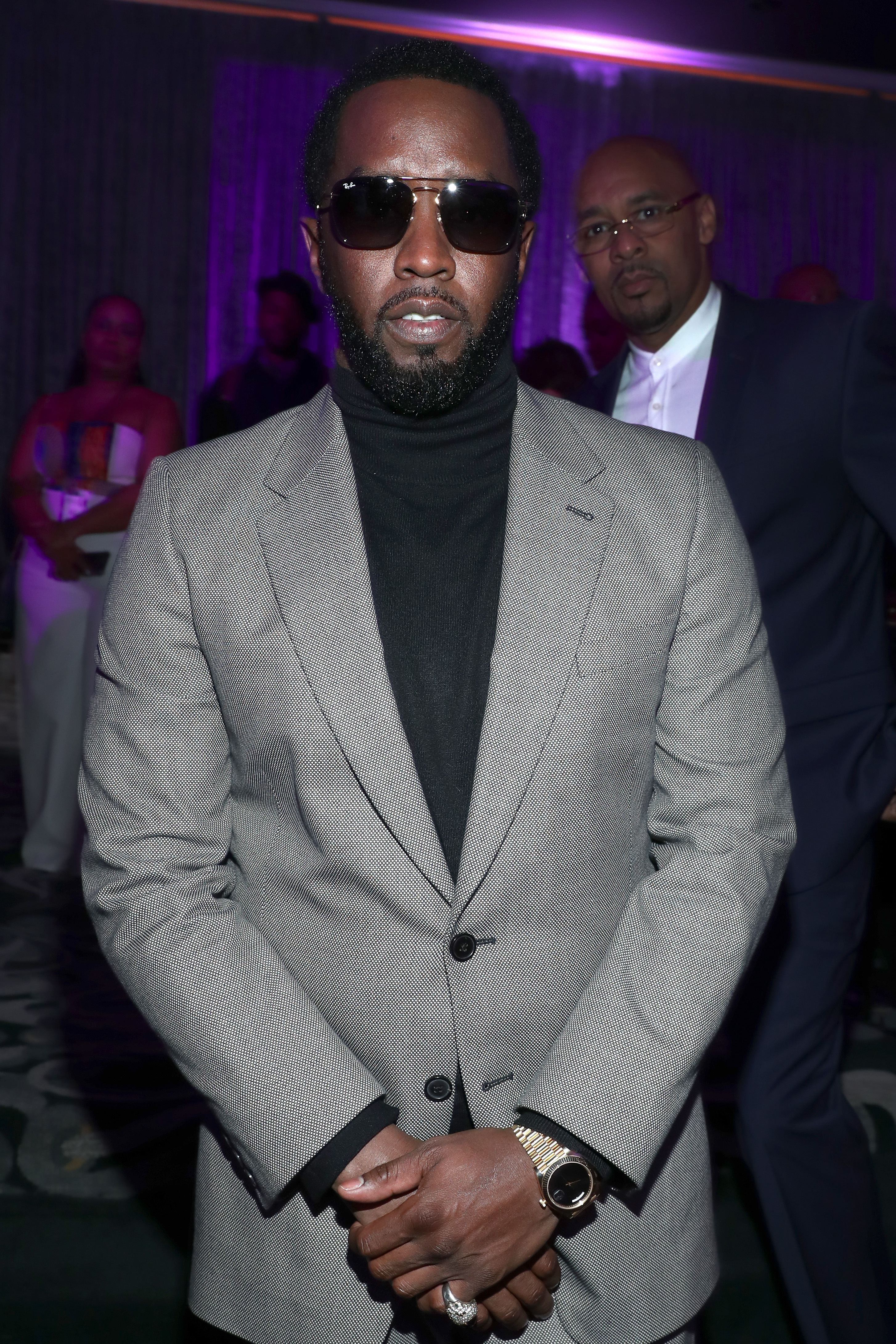 """Sean """"Diddy"""" Combs attends the 2019 Essence Black Women in Hollywood Awards Luncheon at Regent Beverly Wilshire Hotel in Los Angeles on Feb. 21, 2019."""