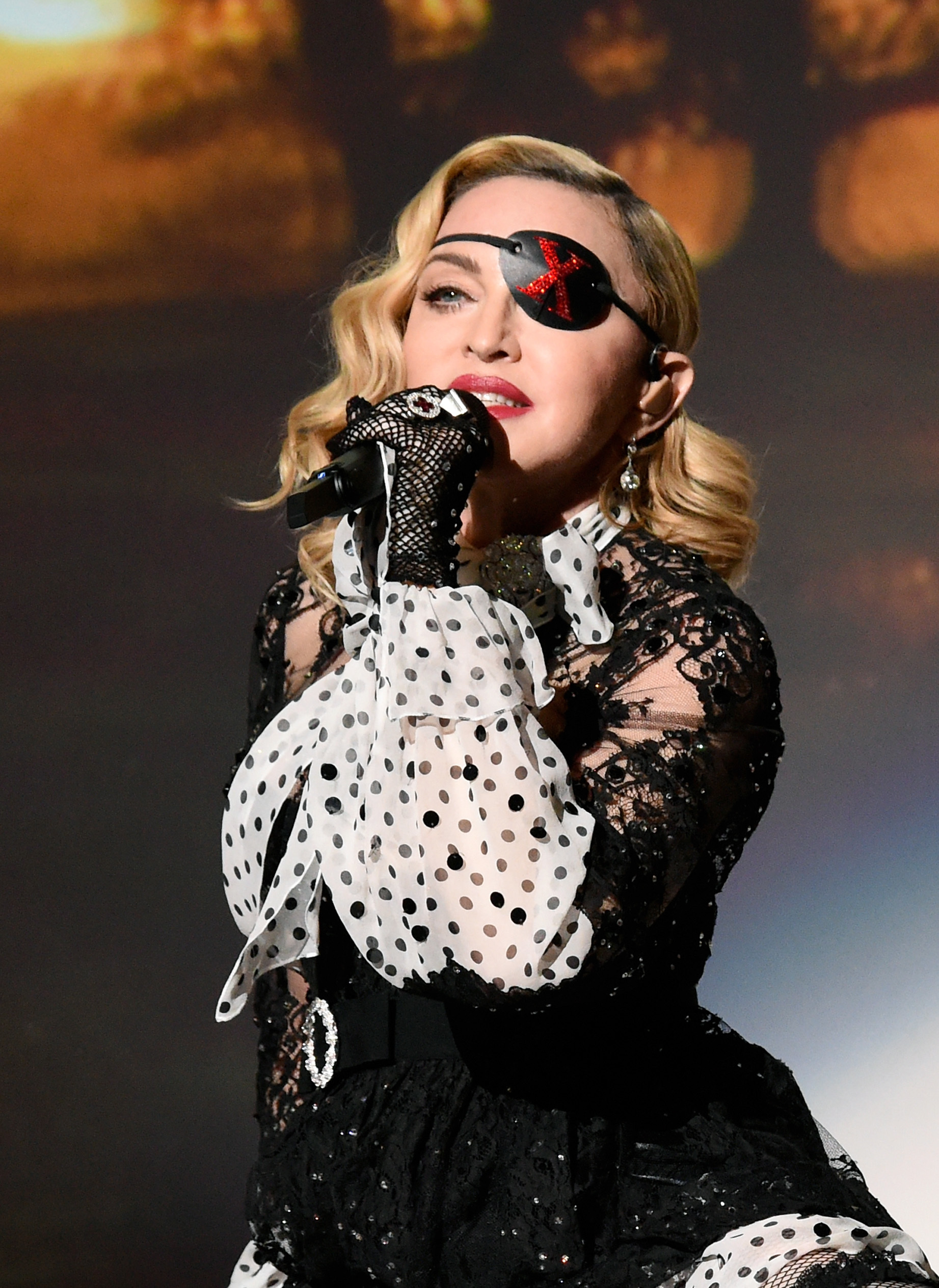 Madonna performs onstage during the 2019 Billboard Music Awards at MGM Grand Garden Arena in Las Vegas on May 1, 2019.