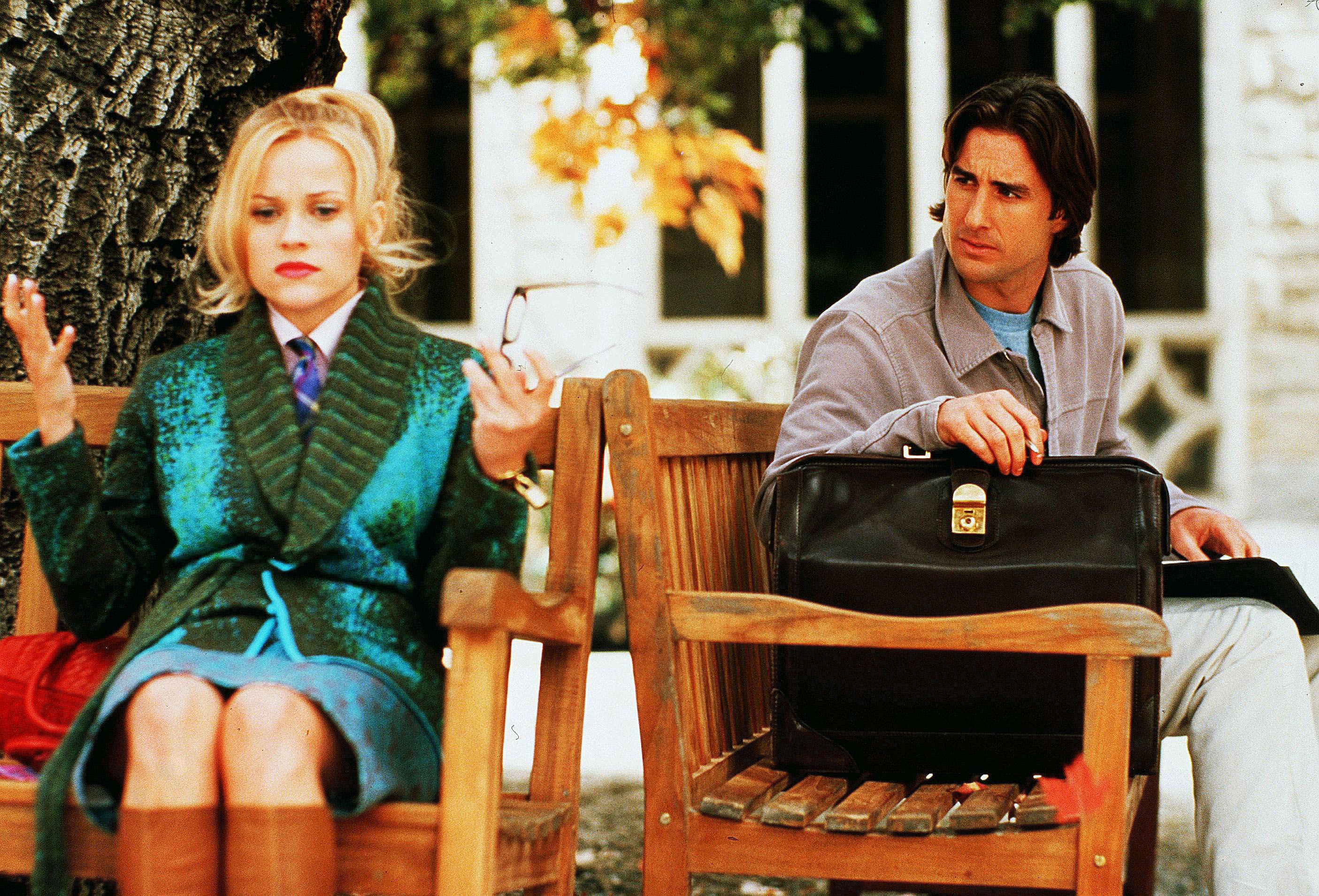 "Reese Witherspoon and Luke Wilson in 2001's ""Legally Blonde."""