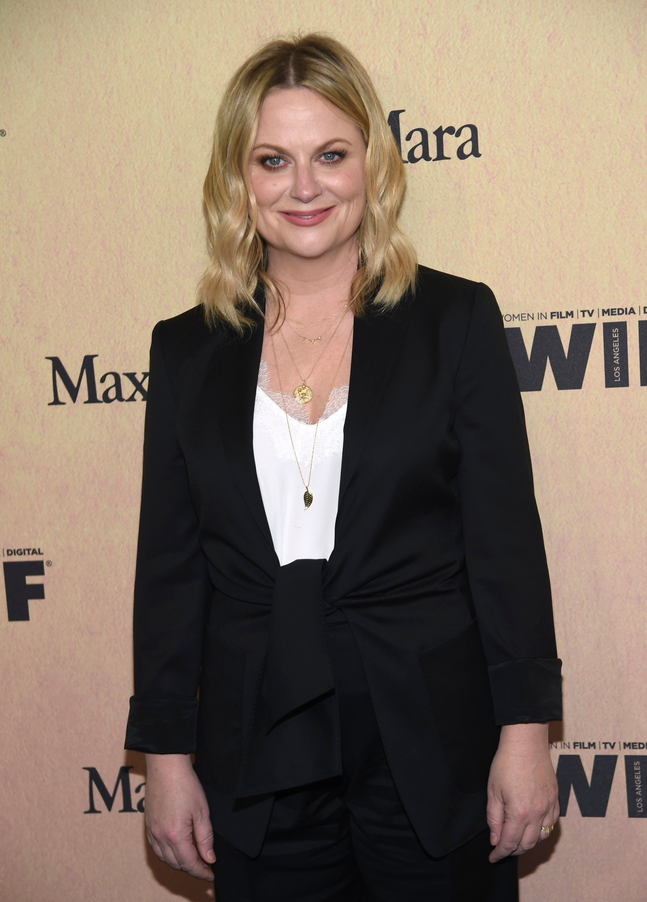 Amy Poehler attends the Women In Film Gala at the Beverly Hilton in Beverly Hills, California, on June 12, 2019.