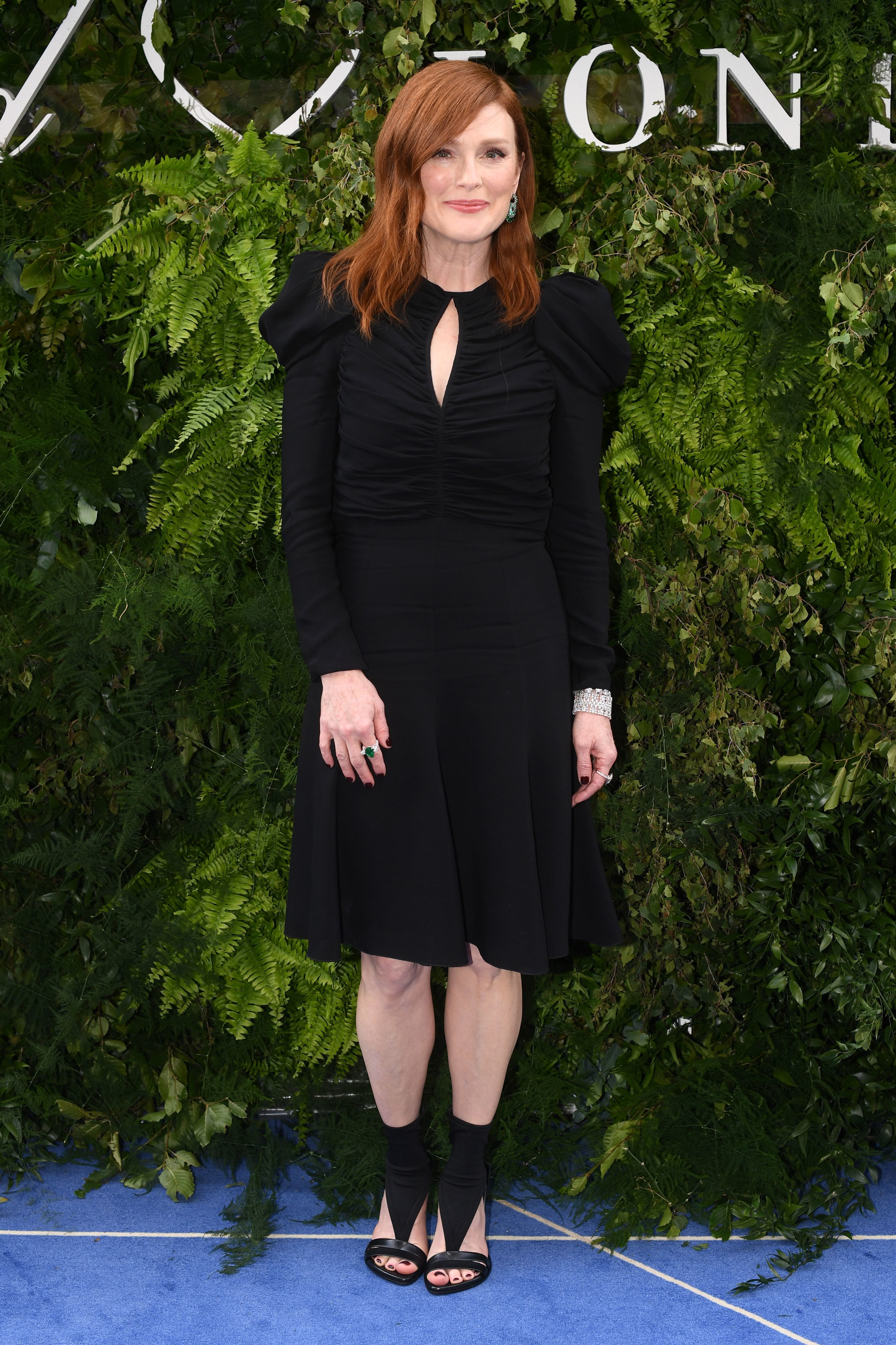 Julianne Moore attends the Chopard Flagship Boutique reopening party in London on June 17, 2019.