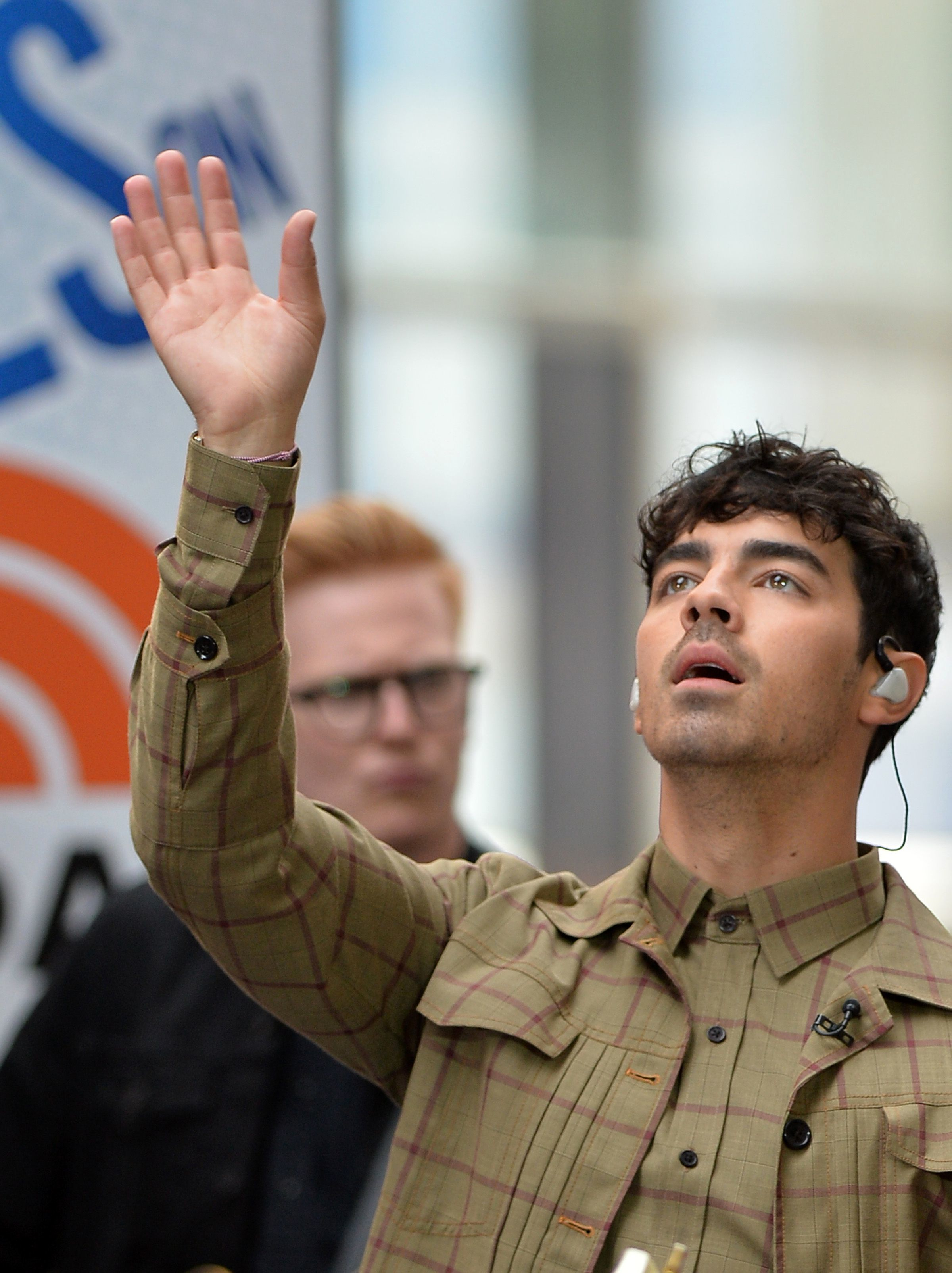 "Joe Jonas appears on ""Today"" in New York City on June 7, 2019."