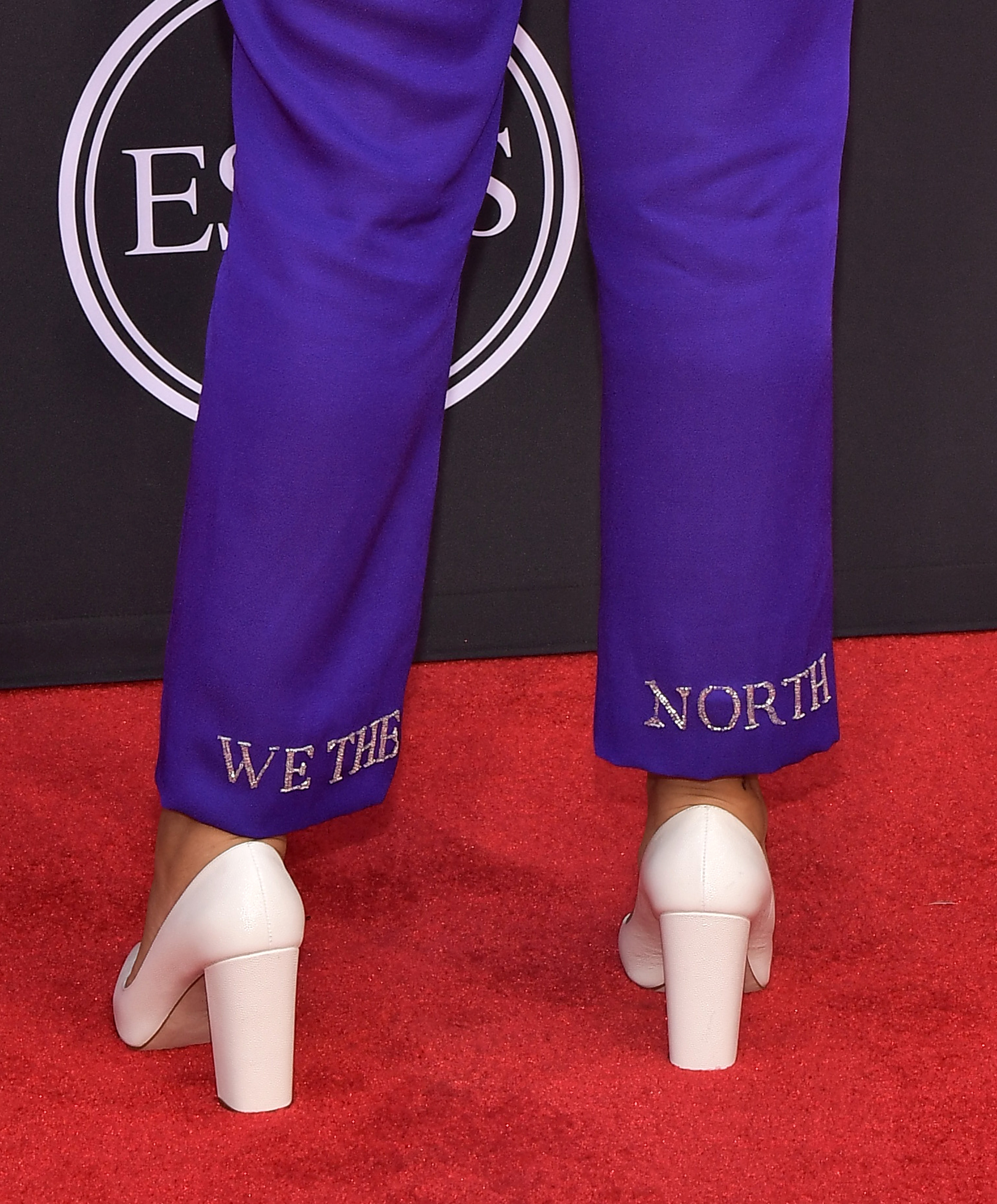 Lilly Singh attends the ESPY Awards at Microsoft Theater in Los Angeles on July 10, 2019.