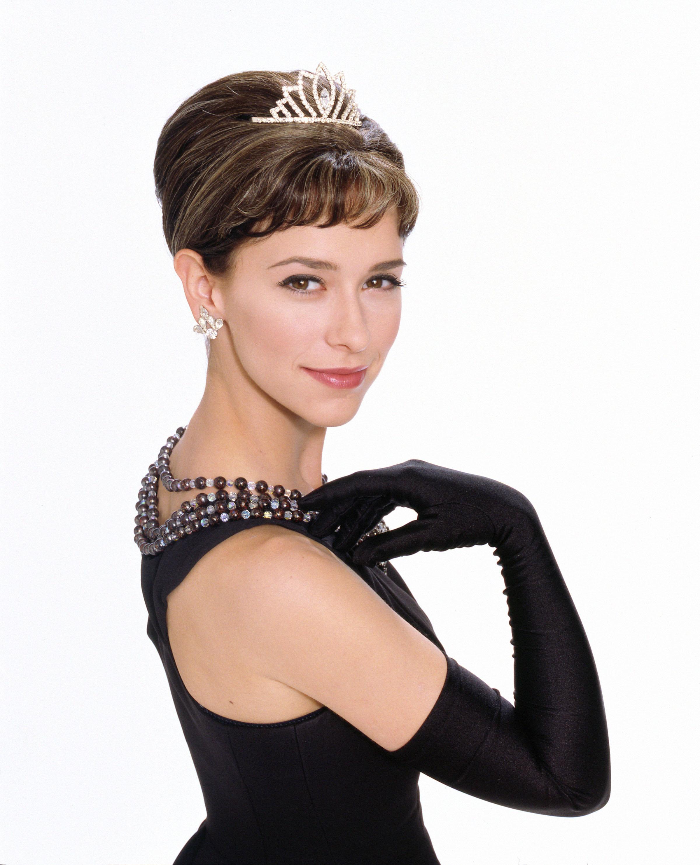 "Jennifer Love Hewitt stars in 2000's ""The Audrey Hepburn Story."""