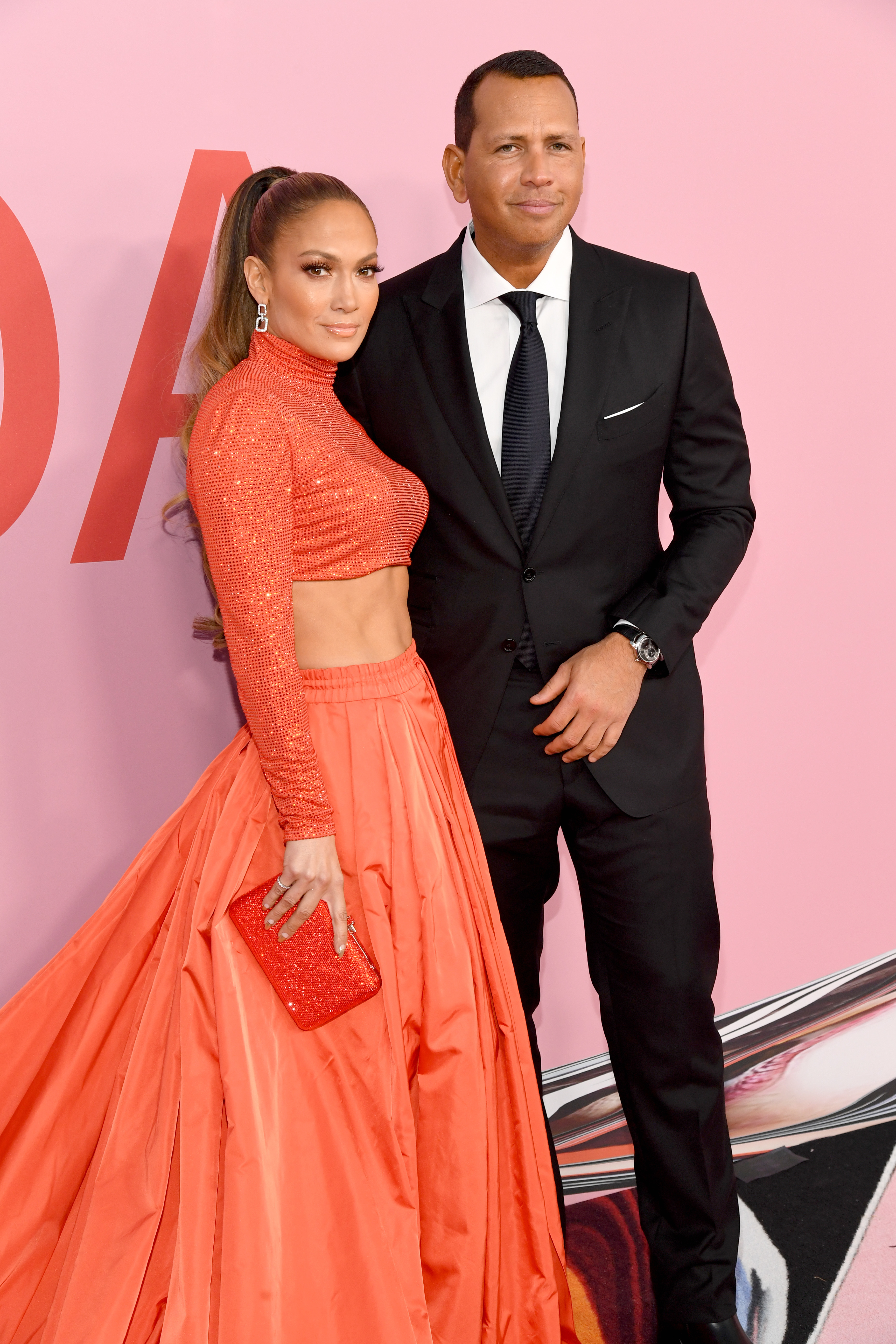 Jennifer Lopez and Alex Rodriguez attends the CFDA Fashion Awards at the Brooklyn Museum of Art in New York City on June 3, 2019.