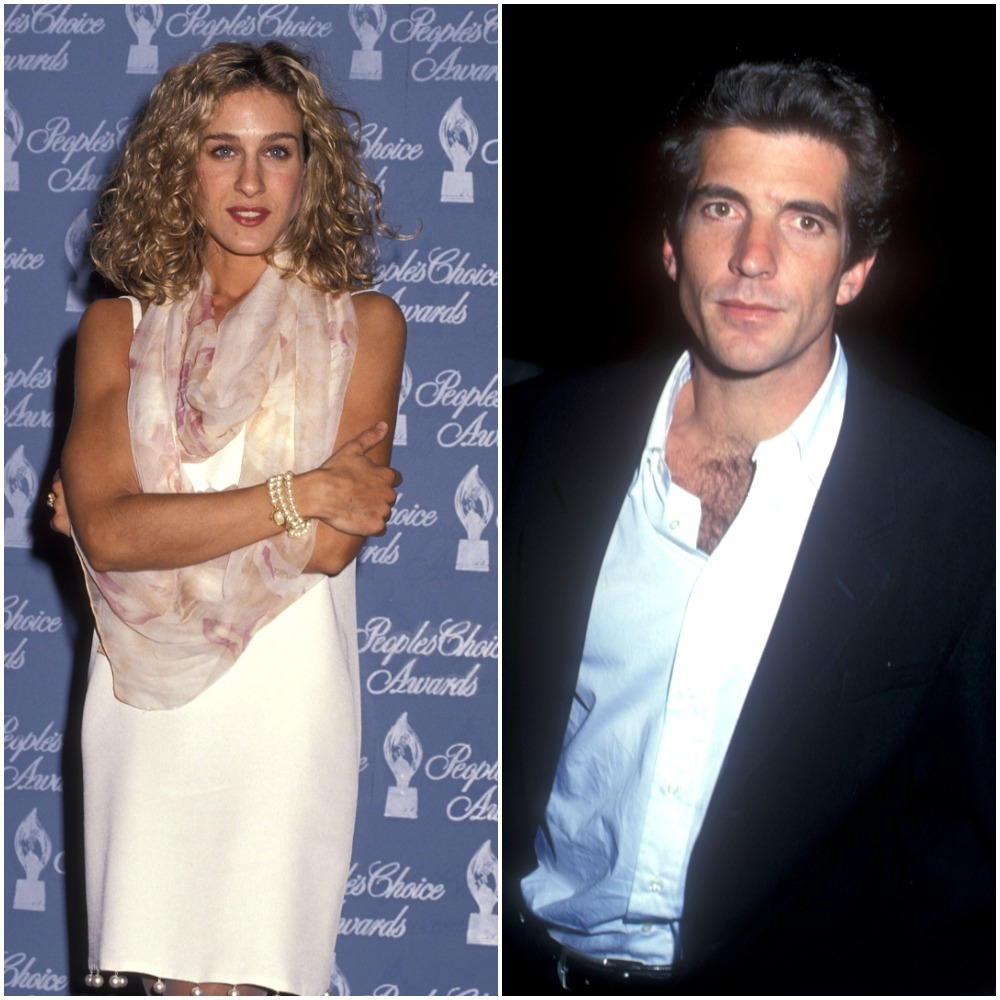 John F. Kennedy Jr. at the Various Venues in Los Angeles in 1993. Actress Sarah Jessica Parker attends the 17th Annual People's Choice Awards at Paramount Studios in Hollywood, California on March 11, 1991.