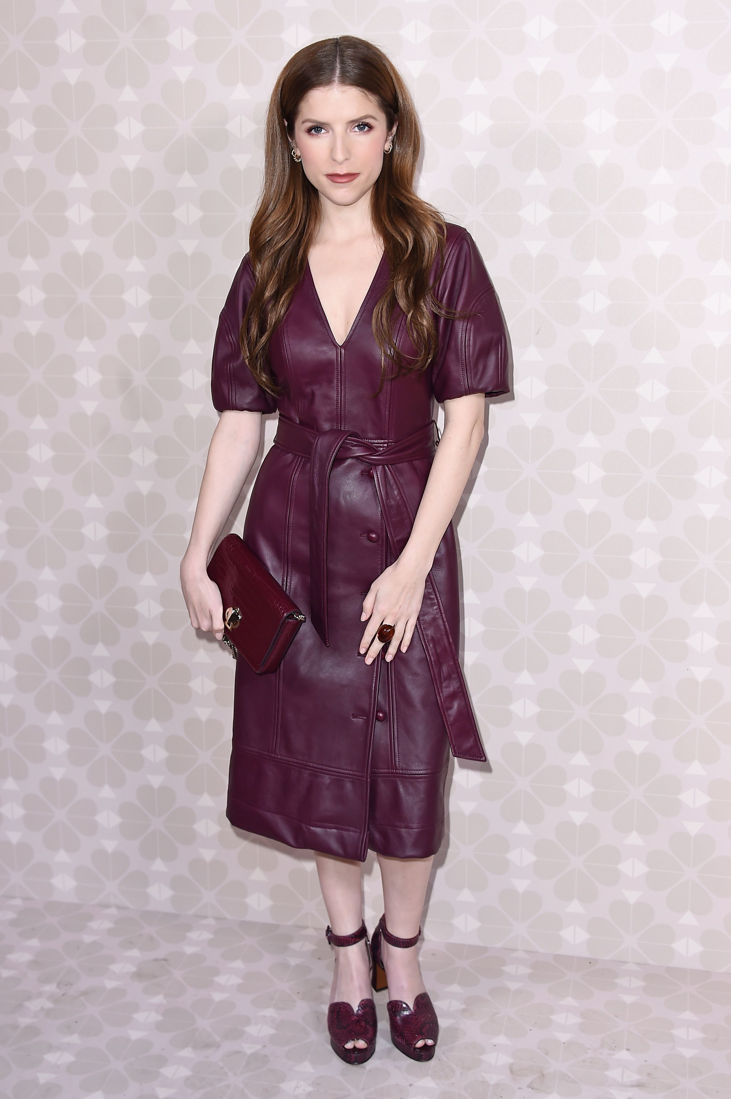 Anna Kendrick attends the Kate Spade show for Spring/Summer 2020 at New York Fashion Week on Sept. 7, 2019.