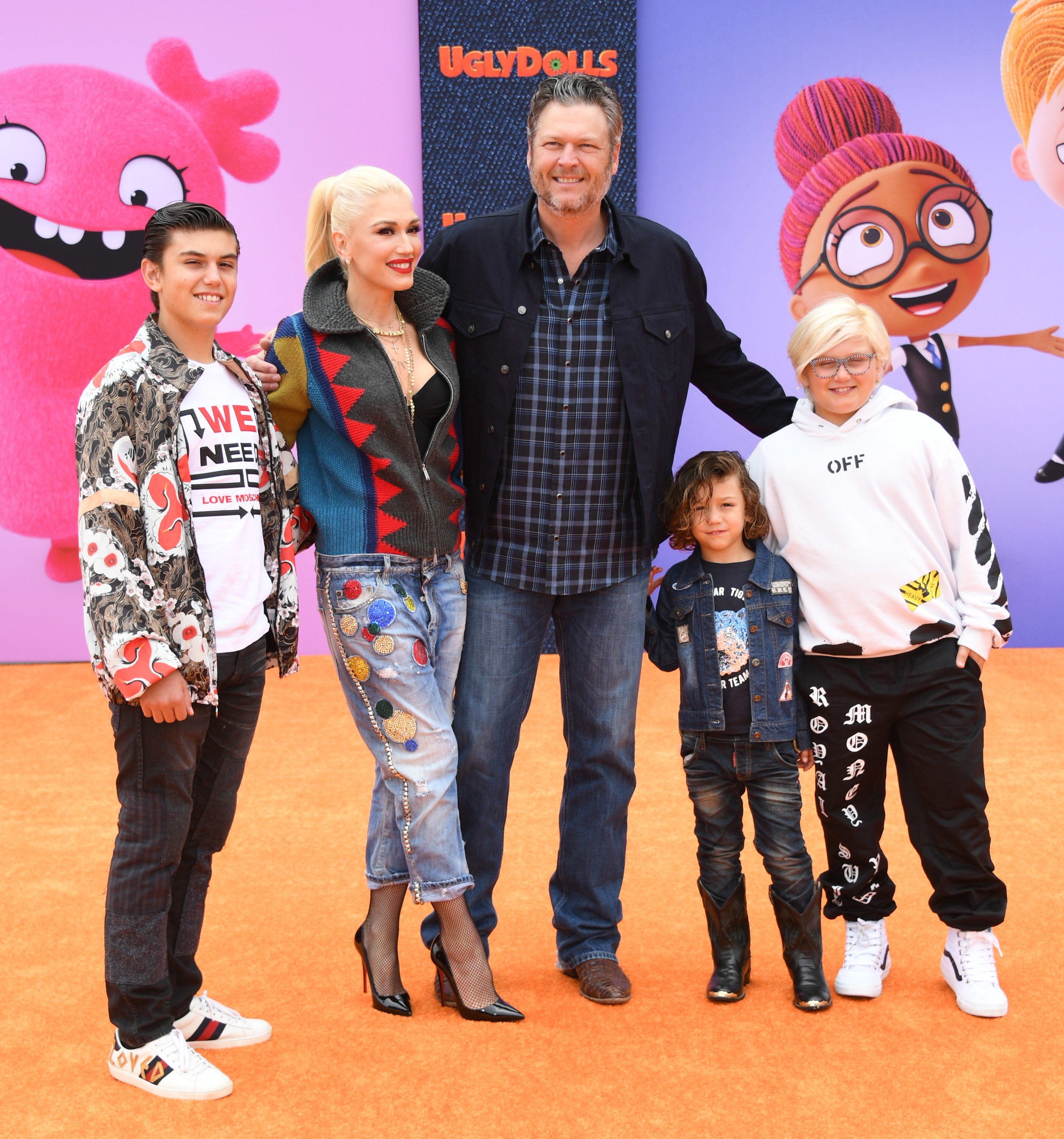 How Blake Shelton Won Over Gwen Stefani's Family, Plus