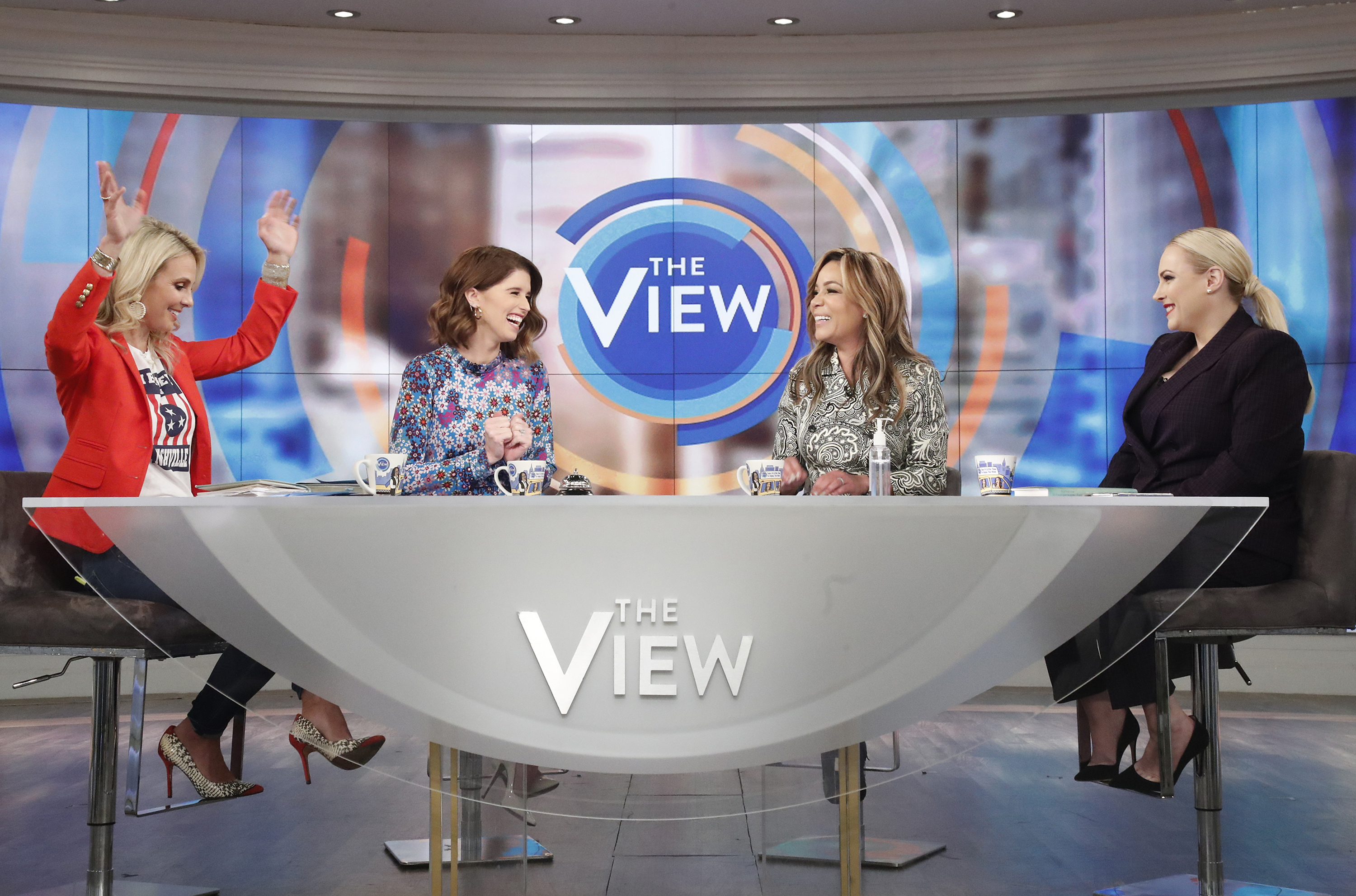 Elisabeth Hasselback Accsuss Meghan McCain of Misrepresenting Her Comments on Prayer, COVID-19 1078433-abcs-the-view-season-23